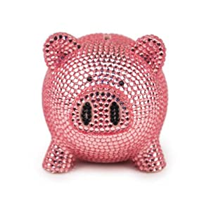 Trumpette rhinestone piggy bank pink toy banks baby - Rhinestone piggy bank ...
