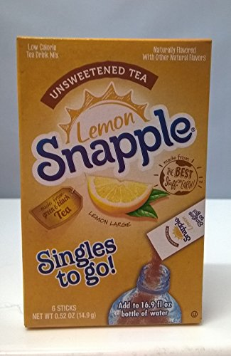 lemon-snapple-singles-to-go-drink-mix-unsweetened-tea-149g-box-6-stick-pack