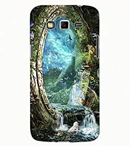 ColourCraft Heaven Design Back Case Cover for SAMSUNG GALAXY GRAND 2 G7102 / G7106
