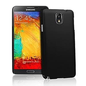 Wow Matte Rubberized Finish Hard Case For Samsung Galaxy Note 3 - Black-MTSN3Black