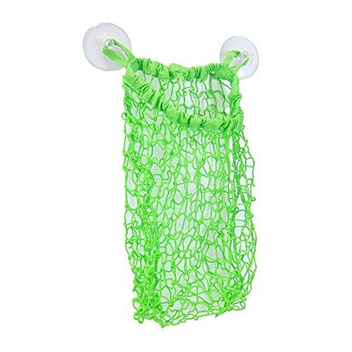 Smartots Bathtime Stretchy Mesh Toy Storage Bag, Green