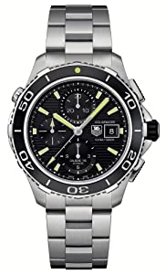 Mens Watch Tag Heuer CAK2111BA0833 Aquaracer Aquaracer Chronograph Automatic Sta