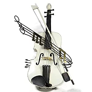 Gift for violin player metal tin musical for Violin decorating ideas