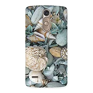 Sea Shell Print Back Case Cover for LG G3 Stylus