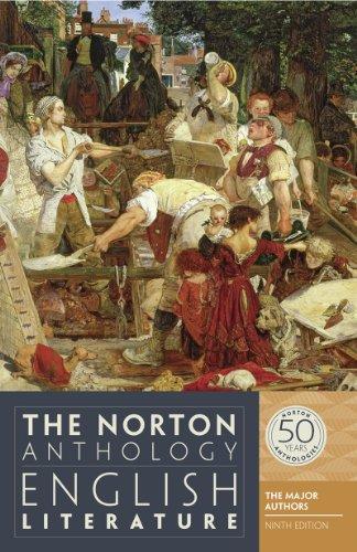 The Norton Anthology of English Literature: The Major Authors, 9th Edition (Norton British Literature compare prices)