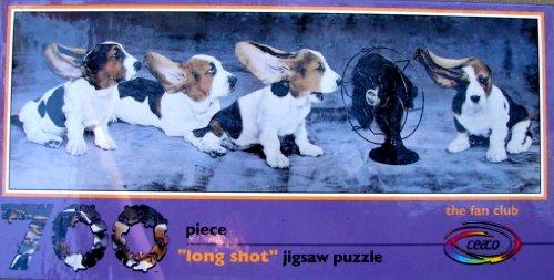 "700pc. Panoramic ""Long Shot"" Jigsaw Puzzle-The Fan Club"