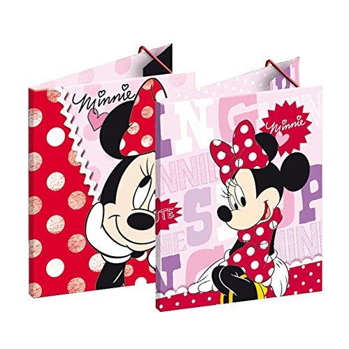 Camicia Minnie 3alette Rosa e Rosso