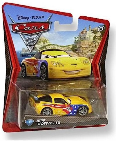 DISNEY PIXAR CARS 2 - JEFF GORVETTE