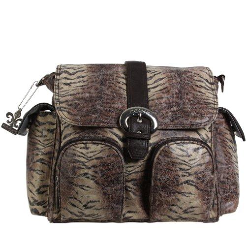 Kalencom Double Duty Diaper Bag Backpack - Safari