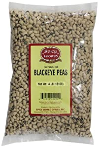 Spicy World Black Eye Peas 64-ounce Pouches Pack Of 4 from Spicy World