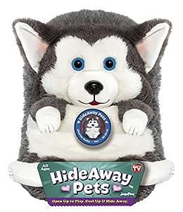 "Jay At Play 15"" Hideaway Pets (Siberian Husky) from Jay At Play"