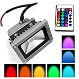 Glitz 10w RGB led flood light outdoor ip65