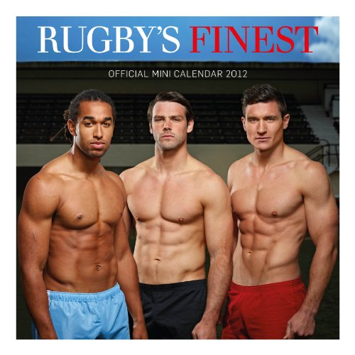 Official Rugby's Finest Mini Calendar 2012