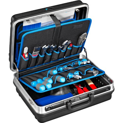 114.06/P Heavy Duty Tool Case with Pocket Pallets, Removable Shoulder Strap