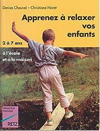 Apprenez à relaxer vos enfants
