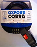Oxford LK689 Cobra Combination Bike Lock - Set You Own Code