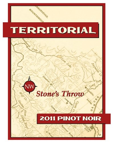 "2011 Territorial Vineyards ""Stone'S Throw"" Pinot Noir 750 Ml"