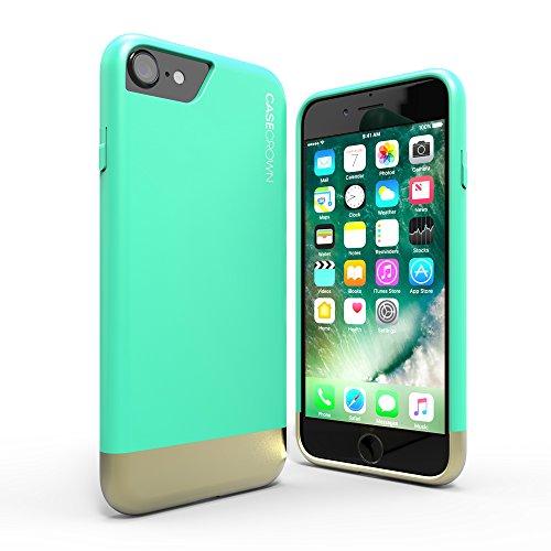 iphone-7-case-casecrown-lux-glider-case-mint-gold-dual-color-w-matte-finish-felt-interior