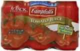 Campbells Tomato Juice, 11.5 Fl Oz Cans (Pack of 24)