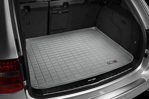 img View detail WeatherTech Custom Fit Cargo Liners for Audi A4 Avant, 1.8t, Grey from amazon.com