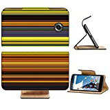 Liili Premium Motorola Google Nexus 6 Flip Pu Leather Wallet Case Abstract striped digital bright background Photo 20953618 Simple Snap Carrying