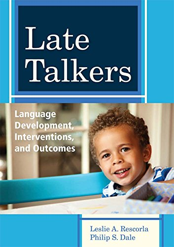 Late Talkers: Language Development, Interventions, and Outcomes (CLI)
