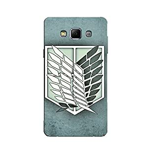 ATTACK ON TITAN BACK COVER FOR SAMSUNG A8
