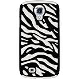 Amzer 95759 Zebra Hybrid Case - Black PC + White Silicone for Samsung GALAXY S4 GT-I9500