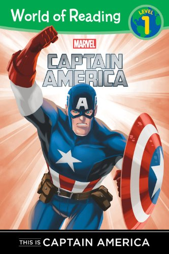 World of Reading This is Captain America: Level 1 (Captain America Comic Book 1 compare prices)
