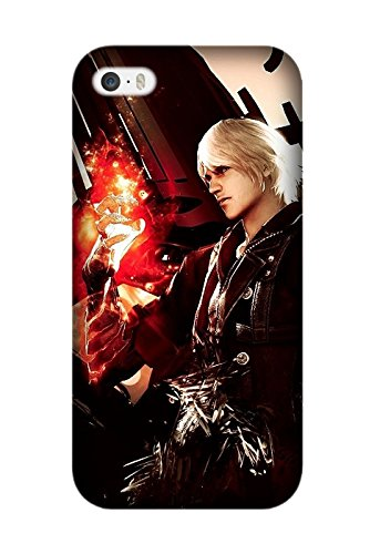Iphone 6/6S - Utral Slim Black Hard Case for Iphone 6/6S Game Devil May Cry Shock-Proof Protective Case (Devil May Cry Iphone 6 Case compare prices)