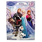 2016 Christmas Advent Holiday Countdown Calendar with 24 Milk Chocolates (Disney Frozen)