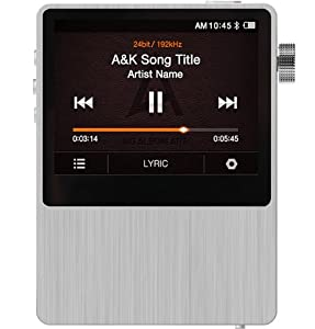 Astell&Kern iriver AK100 Mastering Quality Sound (MQS) Portable System : Hi-end music player