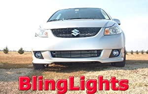 2009 SUZUKI SX4 SPORT LED FOG LIGHTS PAIR driving lamps