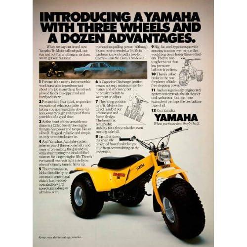 pin 1985 yamaha tri moto 225dx images to pinterest