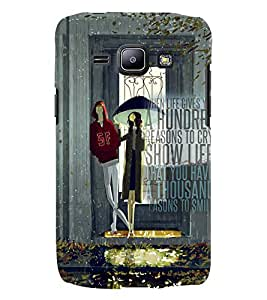 GADGET LOOKS PRINTED BACK COVER FOR SAMSUNG GALAXY J1 MULTICOLOUR