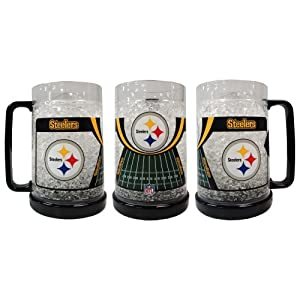 Pittsburgh Steelers Crystal Freezer Mug at SteelerMania