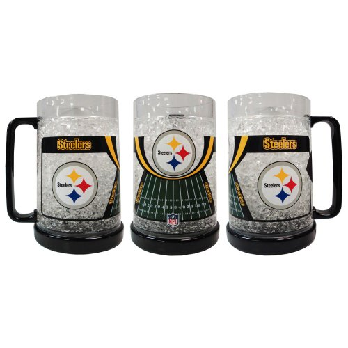 Pittsburgh Steelers Crystal Freezer Mug at SteelerMania