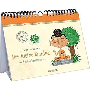 Der kleine Buddha: Ein Postkartenbuch