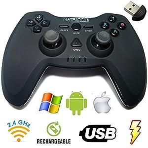 Matricom G-Pad EX Wireless USB Rechargeable Pro Game Pad Joystick w/3D Feedback by Matricom