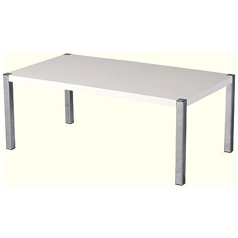 Seconique Charisma-Tavolino da caffè, colore: bianco