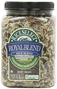 Amazon.com : RiceSelect Royal Blend, Texmati White, Brown