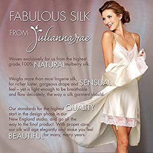 c8501579e7 Julianna Rae Sleep-In Women s 100% Silk Pajama