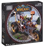 Mega Bloks World of Warcraft Goblin Trike and Pitz
