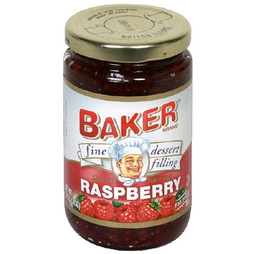 Buy Baker Fine Dessert Filling, Raspberry, 10-Ounce Jars (Pack of 8) (Bakers, Health & Personal Care, Products, Food & Snacks, Baking Supplies, Pie & Cobbler Fillings)