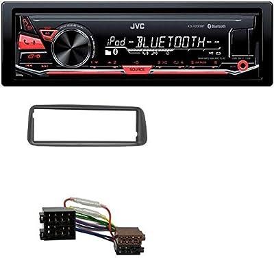 JVC MP3 USB Bluetooth AUX Autoradio für Peugeot 206 (ab 1998)