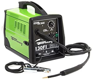 Forney 306 130FI-A Gas/No Gas Flux Core Welder, 120-Volt, 130-Amp, Green by Forney