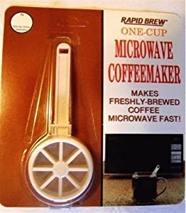 Perma-Brew One Cup Microwave Coffeemaker from Tops Mfg Co Inc