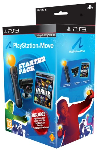 PlayStation Move Heroes Bundle Pack with Move Controller plus Eye Camera and Game (PS3)