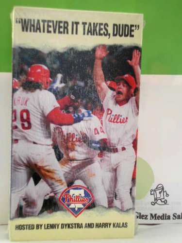 Whatever It Takes Dude:Phillies 1993 [VHS] at Amazon.com