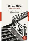 Image of Buddenbrooks ( Fassung Der Grossen Kommentierten Frankfurter Ausgabe ) (German Edition)